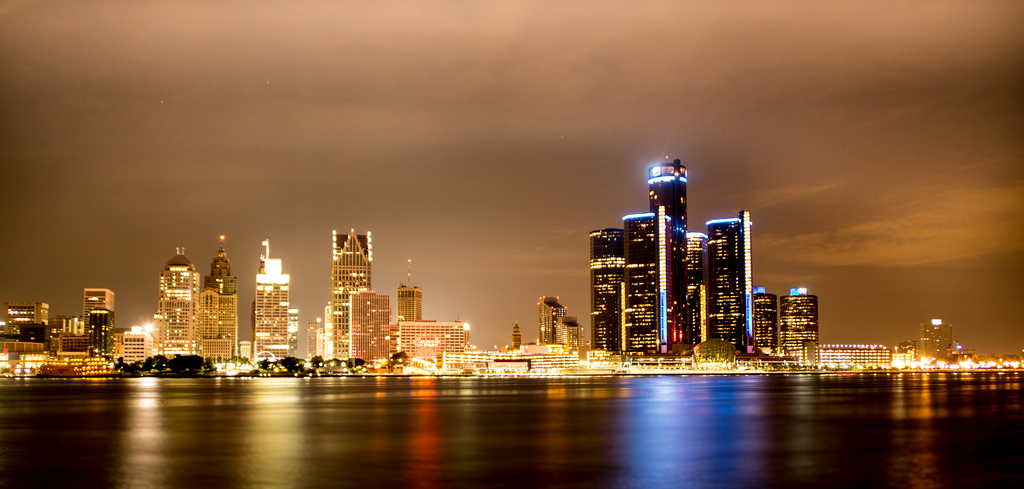 Detroit Skyine